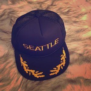 Seattle snap back festival hat